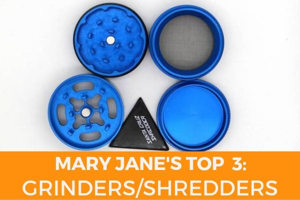 TOP 3 GRINDERS SANTA CRUZ BLUE