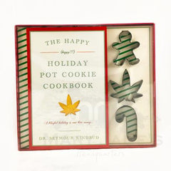 The Happy (Happy!!!) Holiday Pot Cookie Cookbook by Dr. Seymour Kindbud