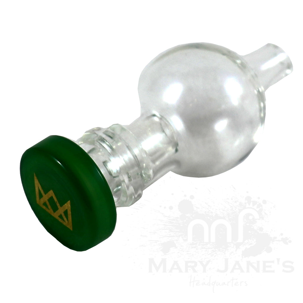 Gear Premium Adjustable Air Flow Bubble Cap-Green