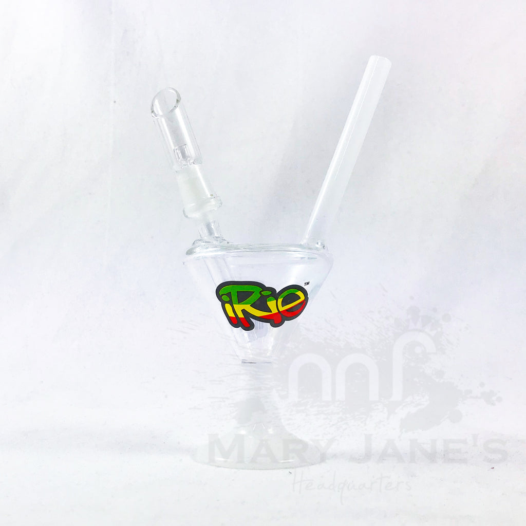"7"" Martini Concentrate Bubbler W/ Direct Inject"
