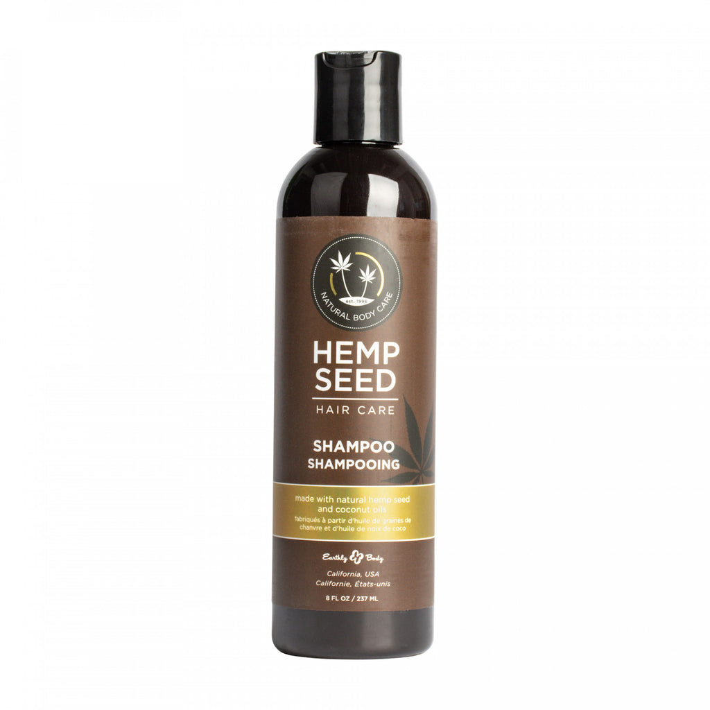 Earthly Body 8oz Hemp Seed Shampoo & Conditioner
