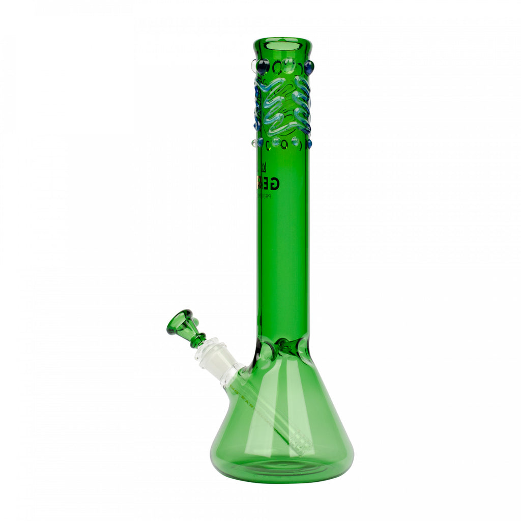 "Gear Premium 14"" Beaker Bong w/ Worked Top"
