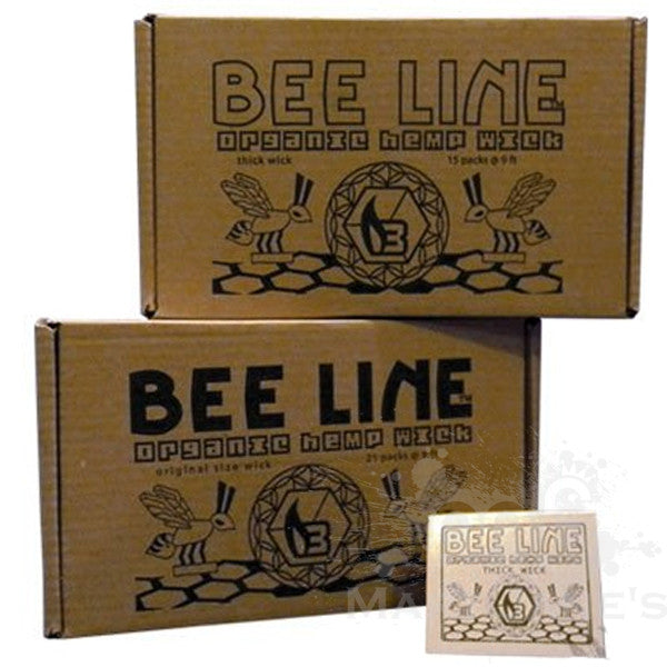 Bee Line Hemp Wick - Mary Jane's Headquarters