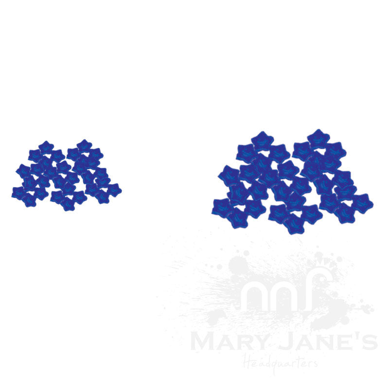 Glass Screens for Bongs and Bubblers - Blue Star