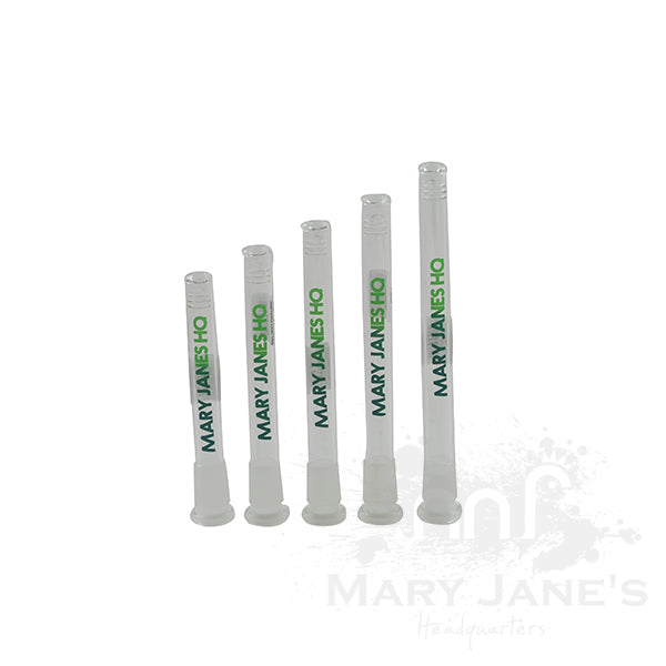 Mary Jane's Headquarters Branded Glass Downstems