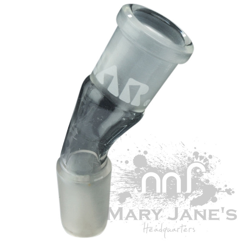 GEAR 30 Degree Angle Glass on Glass Ash Catcher Adapter - Mary Jane's Headquarters