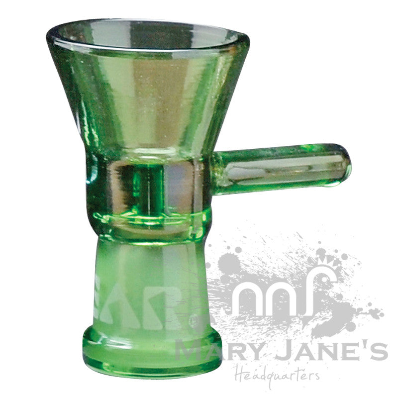 GEAR Female Small Cone Pull-Outs (Limited Quantity)-Green Bong Bowl