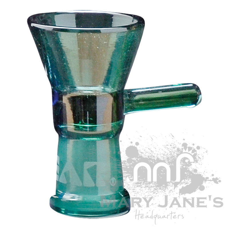 GEAR Female Small Cone Pull-Outs (Limited Quantity)-Teal Bong Bowl
