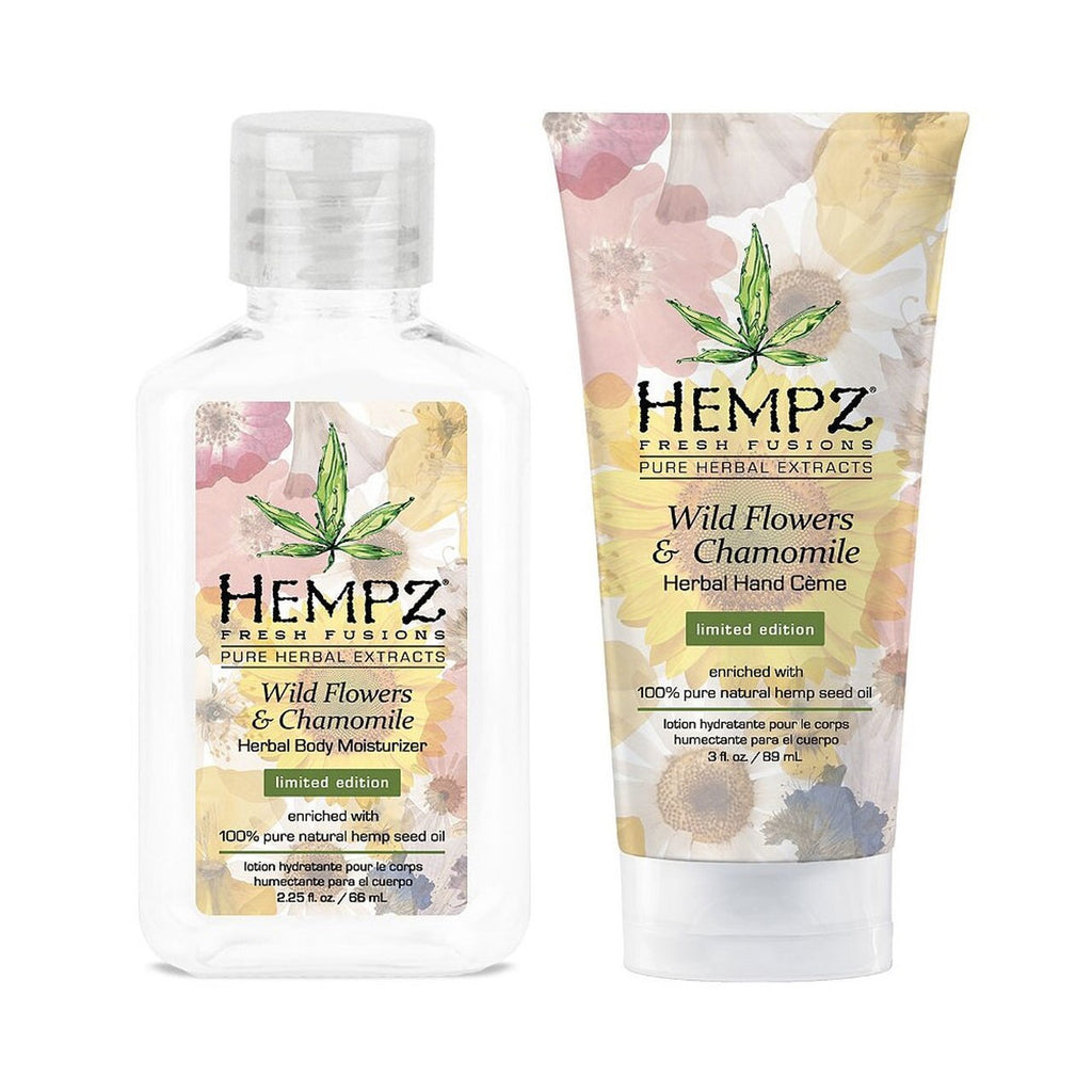 Hempz Let's Stay In Gift Set - Manicure Kit