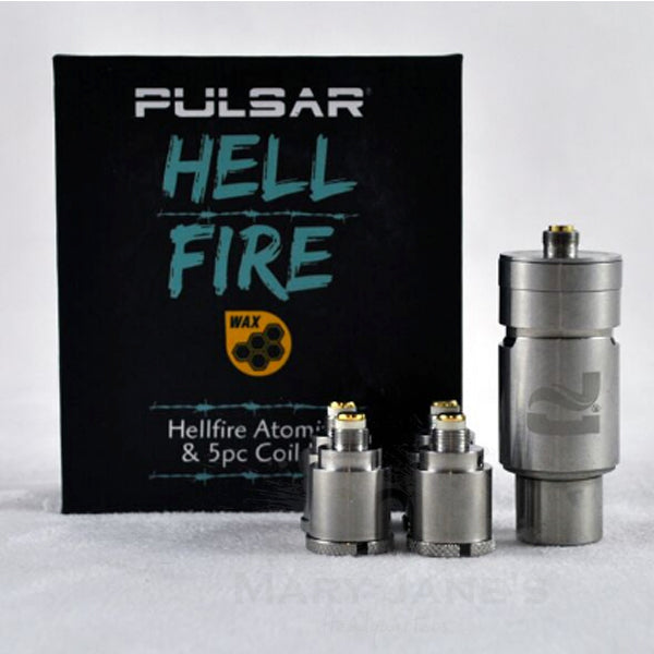 Pulsar Hell Fire Atomizer w/ 5 Coils Kit (Barb Fire w/ Additional Coils