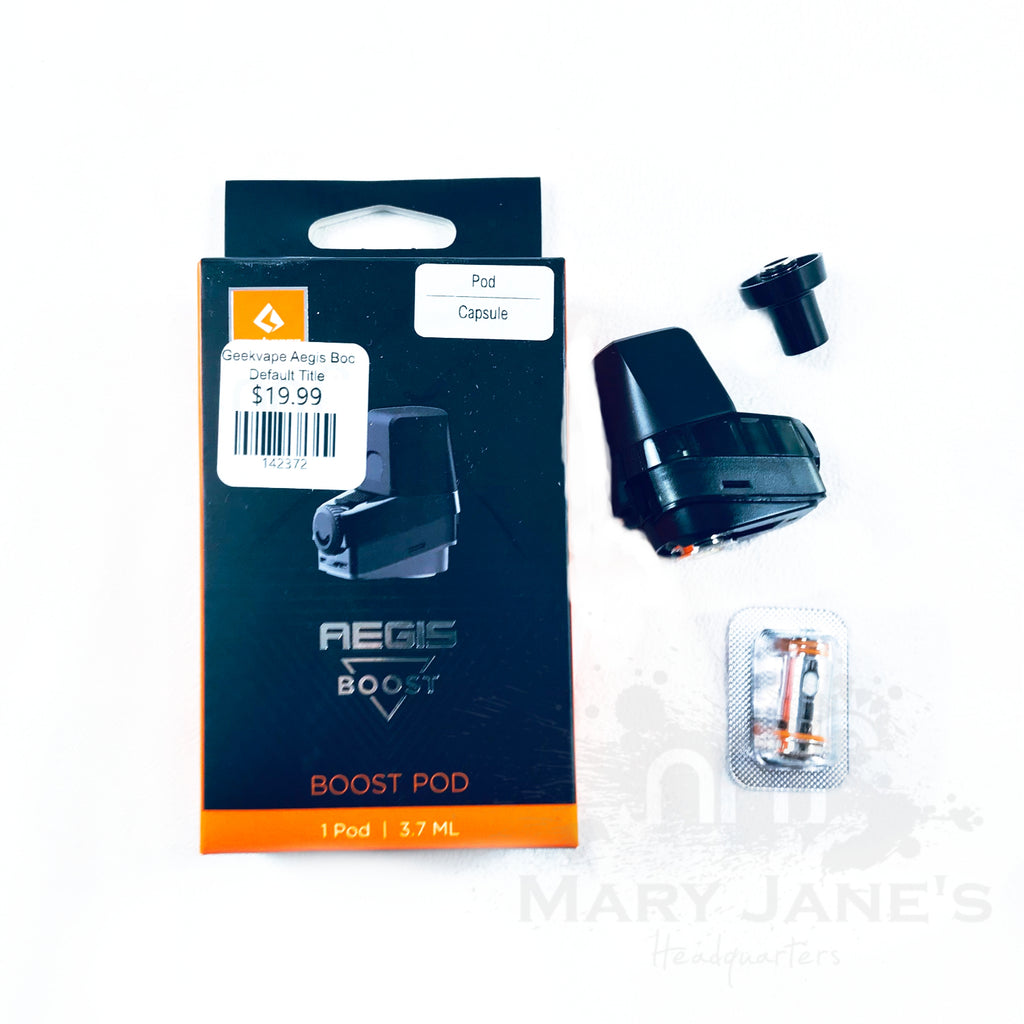 Geekvape Aegis Boost Replacement Pod (with 2 Coils) 1/PK