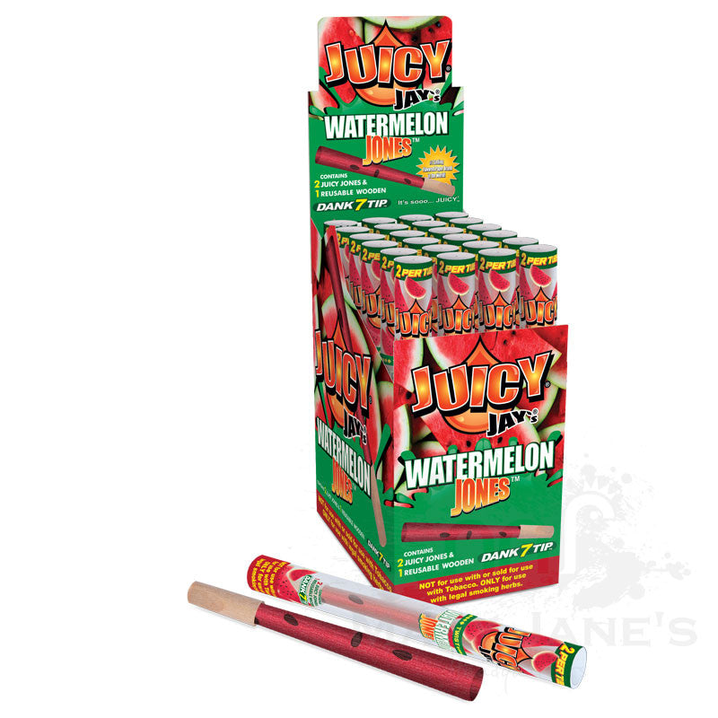Juicy Jay's Jones Prerolled Flavoured Rolling Paper with Triple Dipped Flavoured Wood Tip