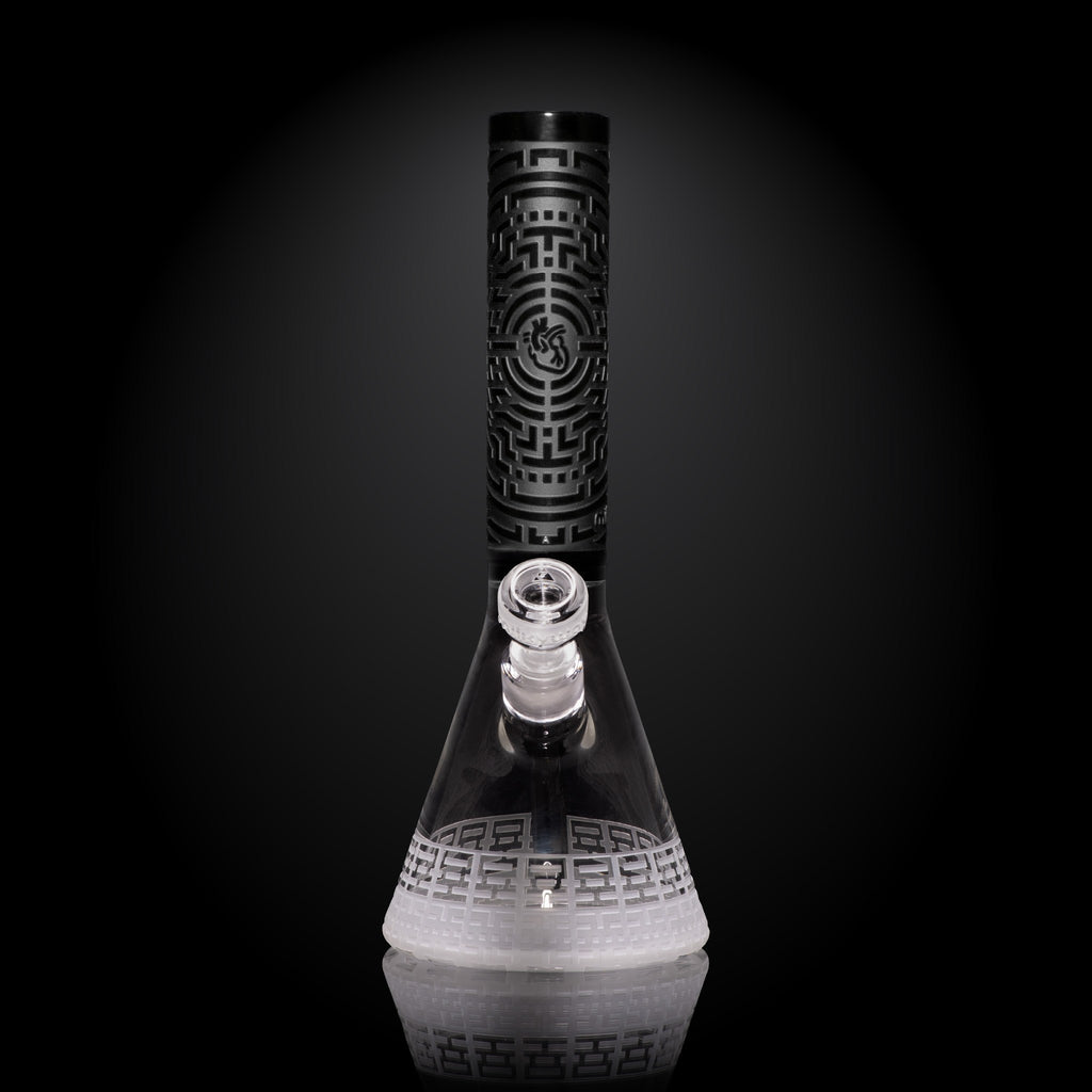 Milkyway Glass DNA Codex Beaker bong