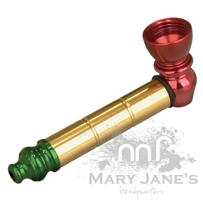 Rasta Anodized Metal Pipe
