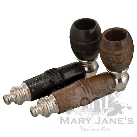 Picture of Mickey Nickel & Wood Pipe