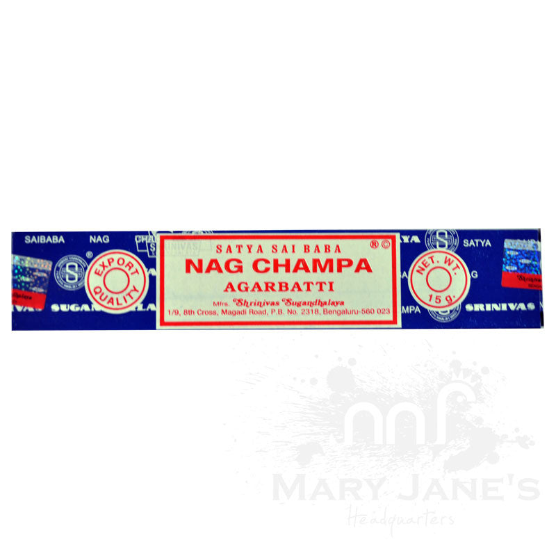 Nag Champa Incense - Mary Jane's Headquarters