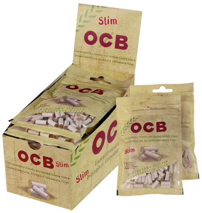 OCB Pre-Made Ecopaper Filters - Slim