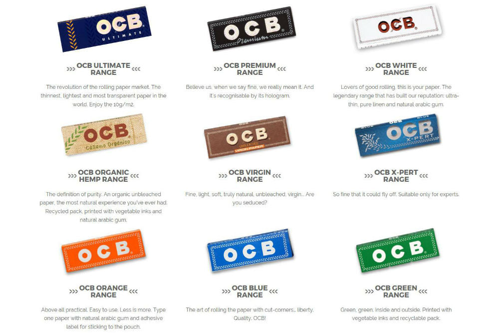 OCB Rolling Papers - Mary Jane's Headquarters