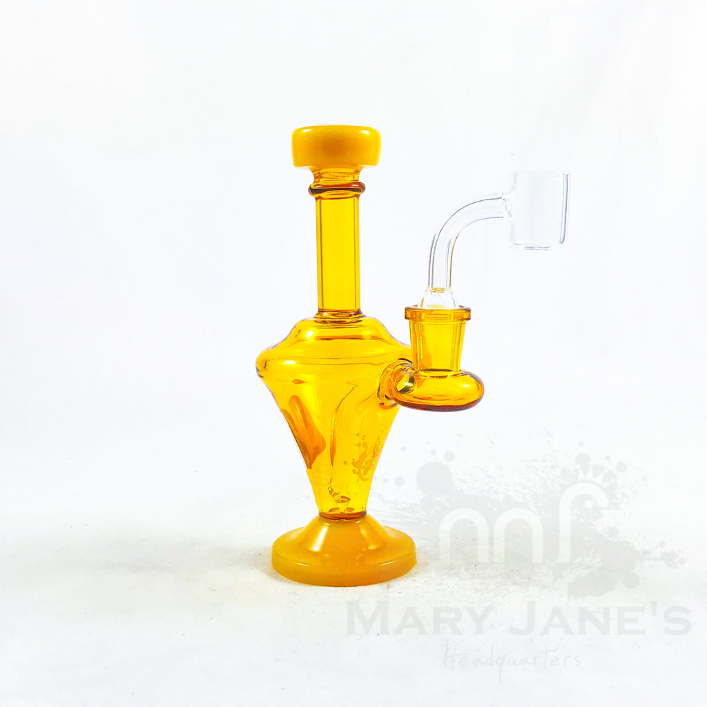 "Pulsar 6.5"" Finial Mini Dab Rig"