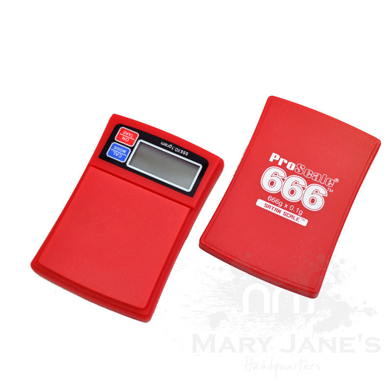 Proscale 666 (666g x 0.1g) Single Point Scale - Mary Jane's Headquarters
