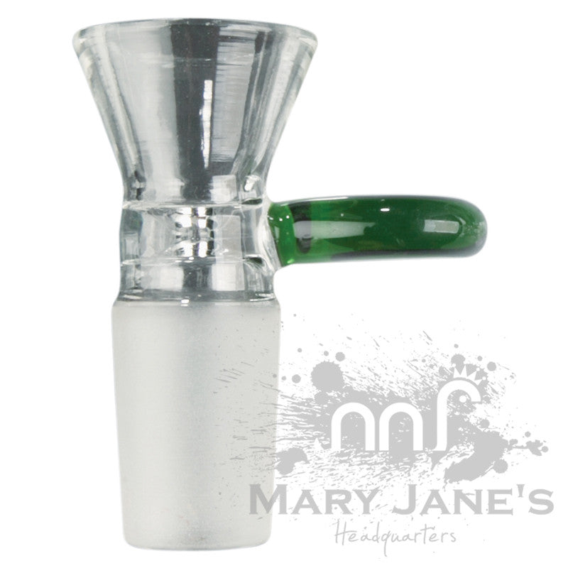 IRIE 14mm Industrial Cone Bong Bowl Pull-Out w/ Colour Handle