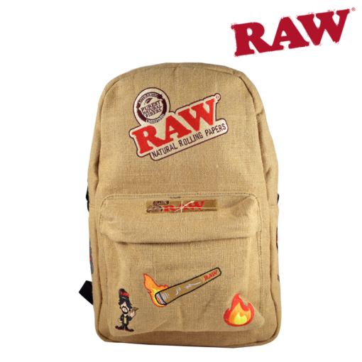 Raw Backpack/Bakepack tan front
