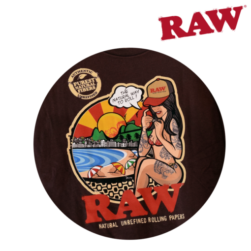 Raw Brazil Shirt logo