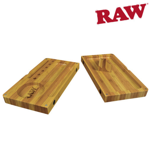 Raw Striped Bamboo Filling/Rolling Tray
