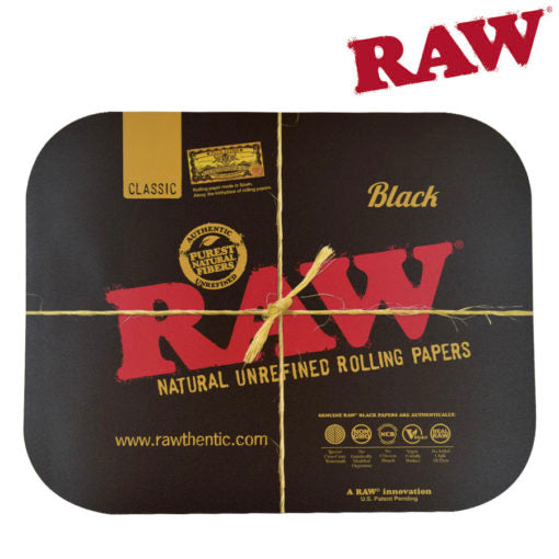 Raw Tray Magnetic Covers black