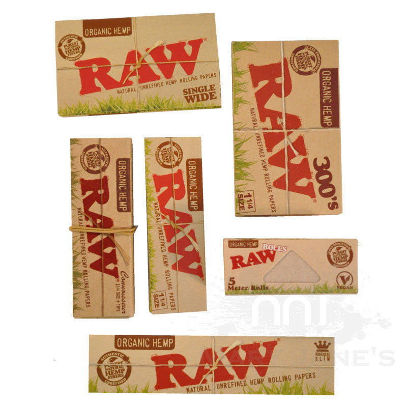 Raw Organic Rolling Papers - Mary Jane's Headquarters