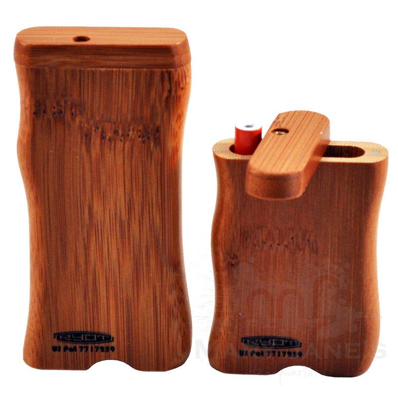 RYOT Wood Dugout One Hitter Case and One Hitter Bat - Rosewood