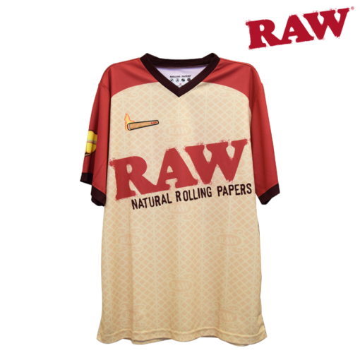 Raw Short Sleeve Sports Jersey