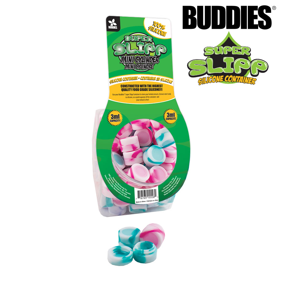 BUDDIES­­ SILICONE CONTAINER 3ml