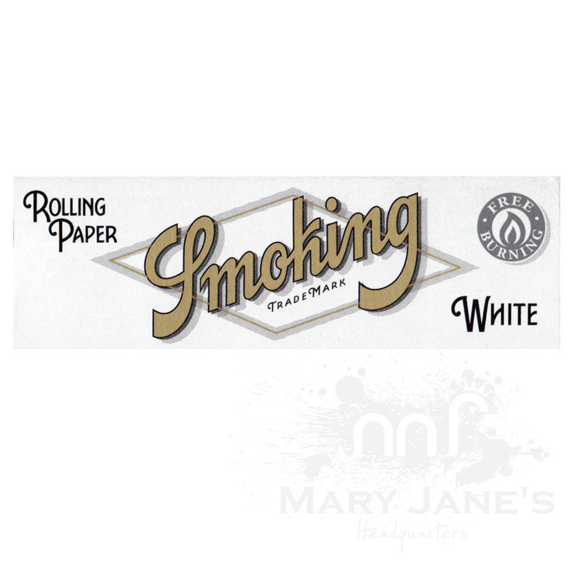 Smoking Rolling Papers - White 1-1/4