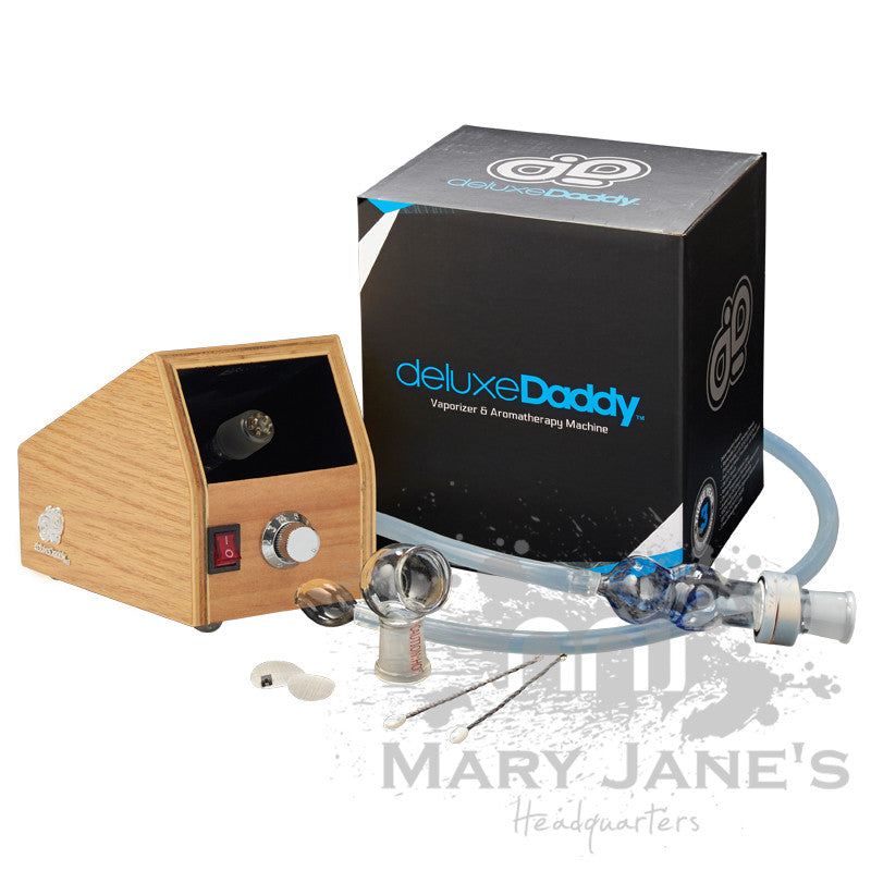 Deluxe Daddy Stationary Dry Herb Vaporizer - Mary Jane's Headquarters