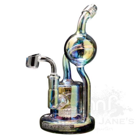"Picture of Red Eye Tek 8"" Tall Metalic Terminator Finish Aorta Concentrate Rig"