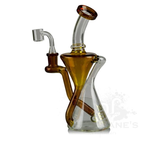 "Gear Premium 9"" Tall Equinox Concentrate Recycler-Amber"