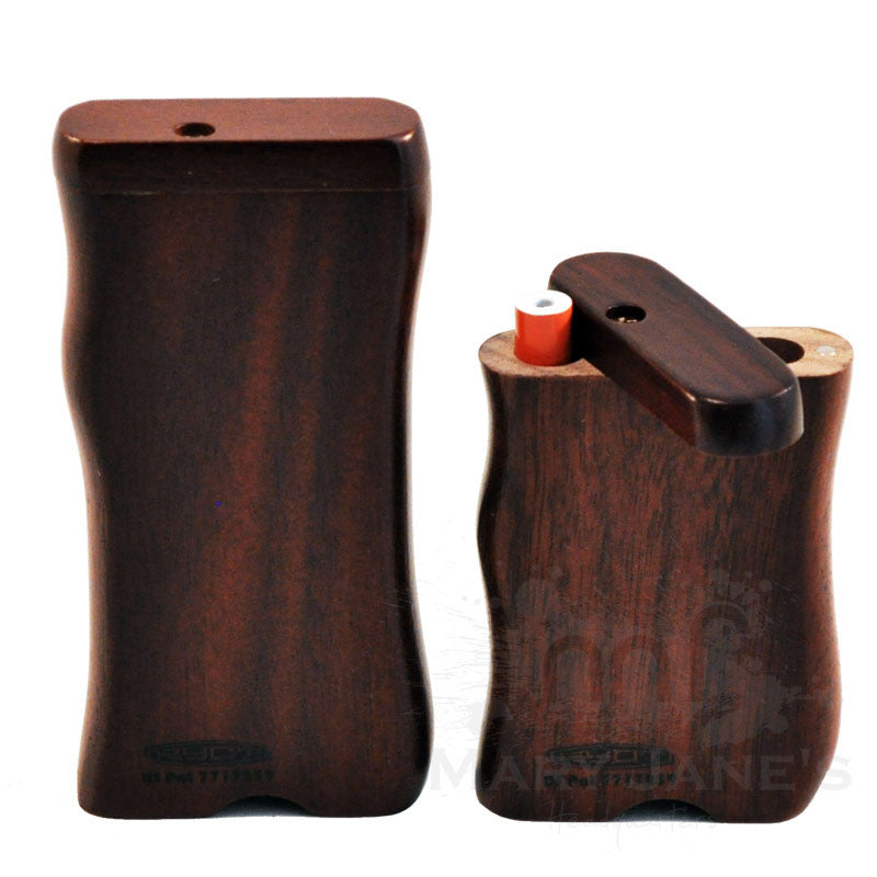 RYOT Wood Dugout One Hitter Case and One Hitter Bat - Walnut