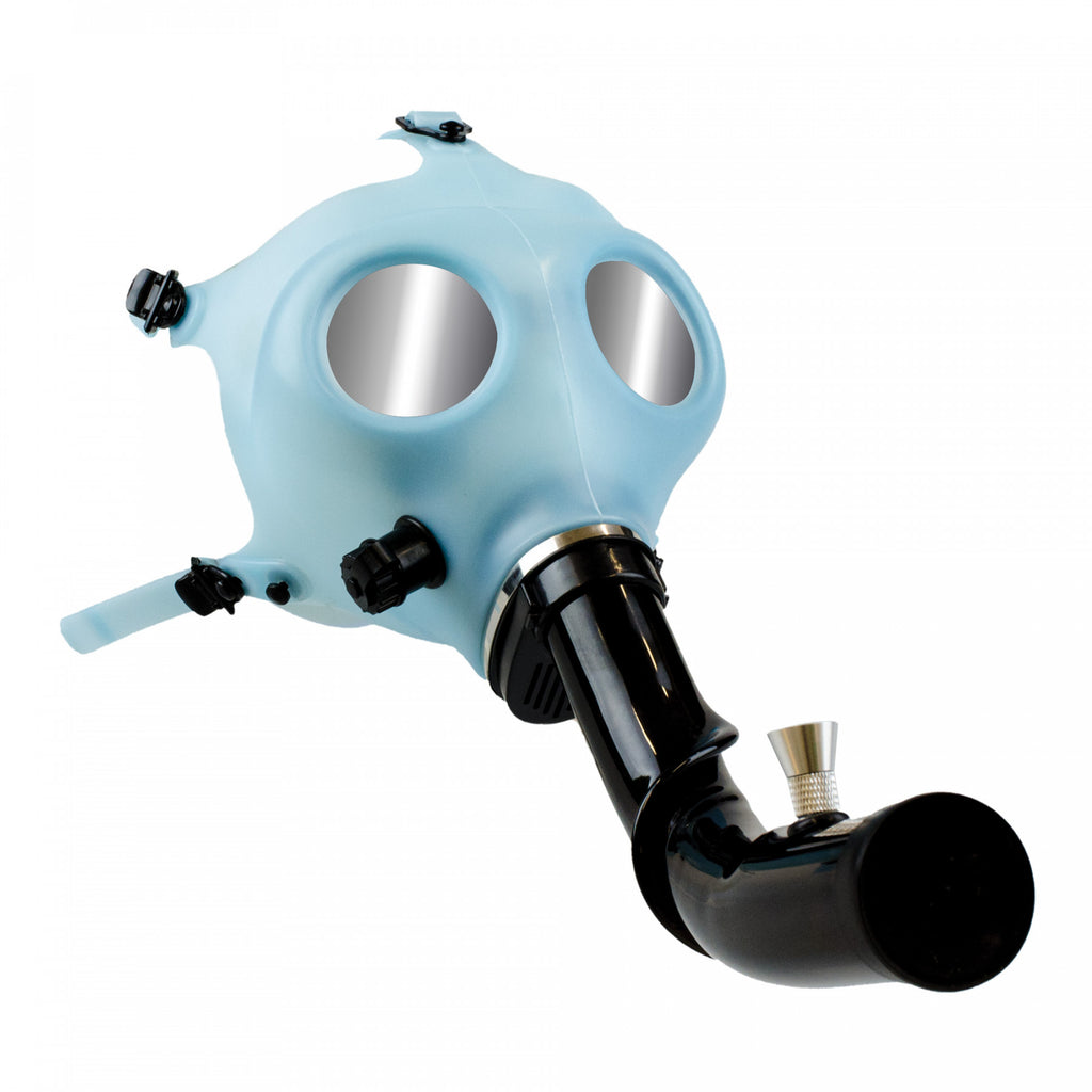 Gas Mask w/ Acrylic Steam Roller glow in the dark