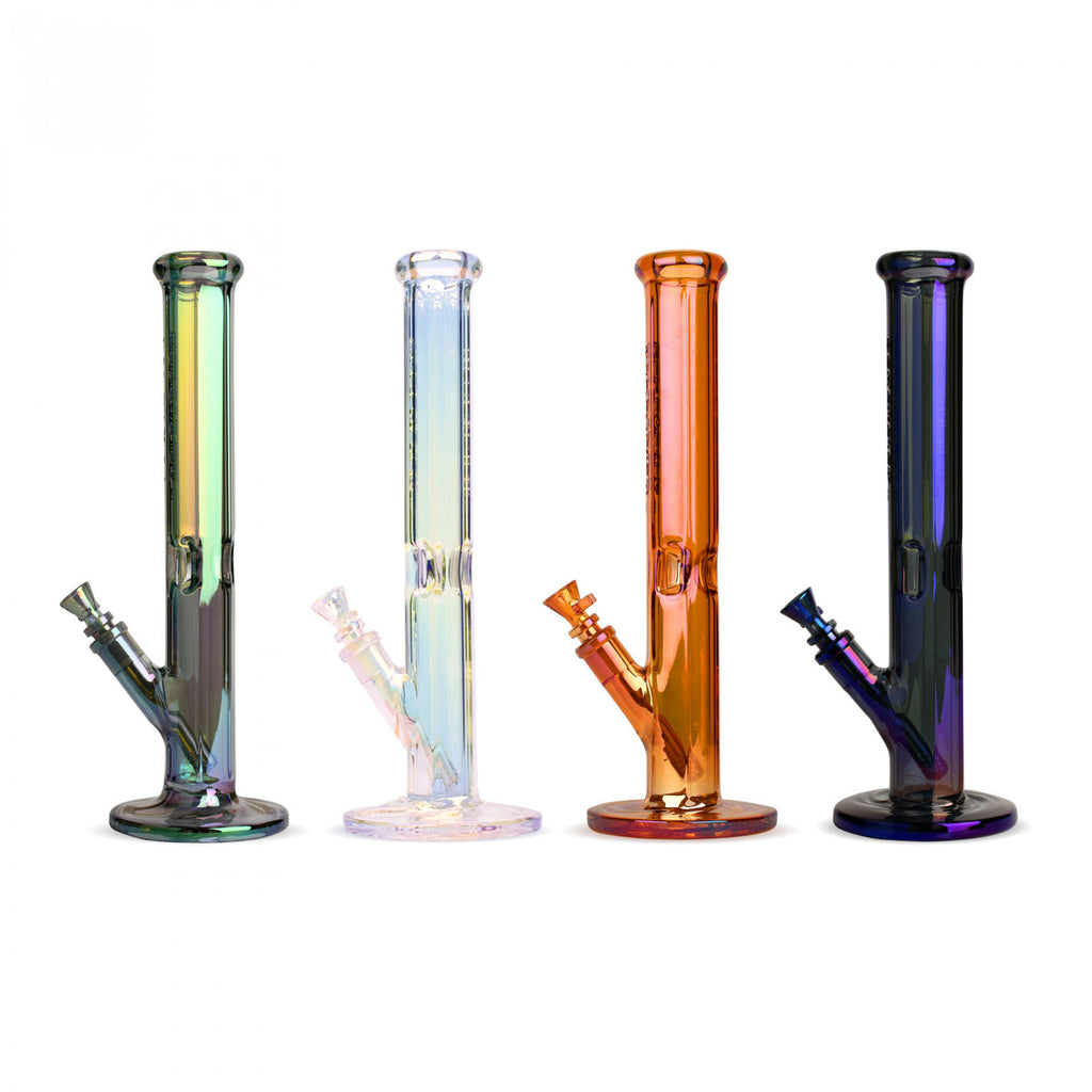 "Red Eye Tek 15"" Tall Terminator Finish Hex Straight Tube Bong"