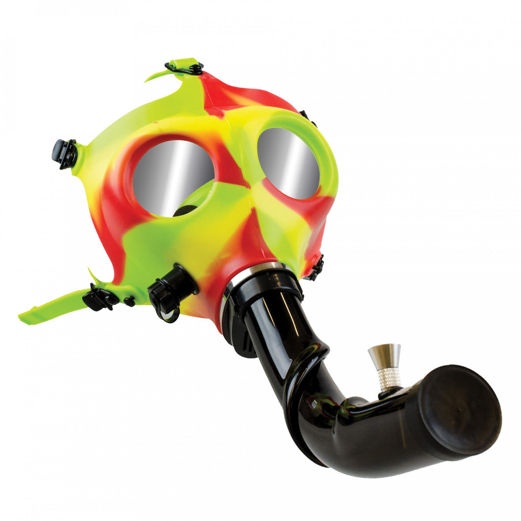 Gas Mask w/ Acrylic Steam Roller