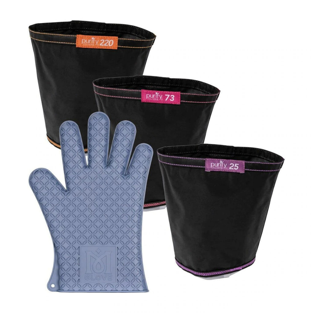 Magical Butter 4 Pack Combo with 3 Filters & Glove