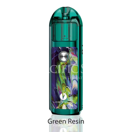 Lost Vape Lyra 1000mAH Pod Kit green resin