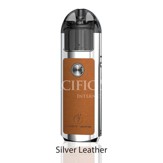 Lost Vape Lyra 1000mAH Pod Kit silver leather