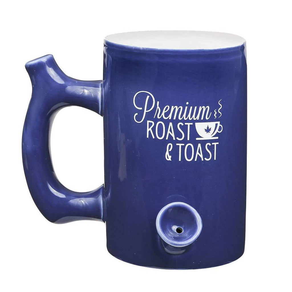 roast and toast mug - blue