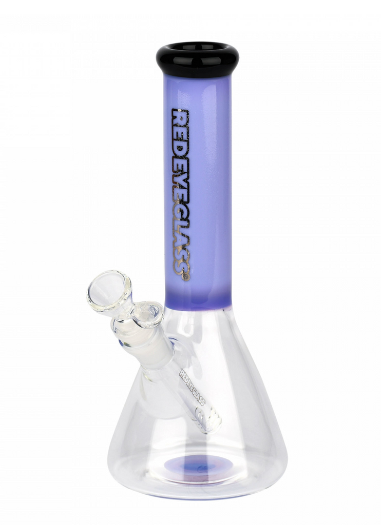 "Red Eye Glass 9.5"" Nollie Beaker Tube"