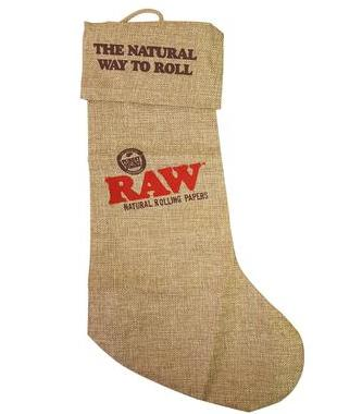 Raw Linen Stocking