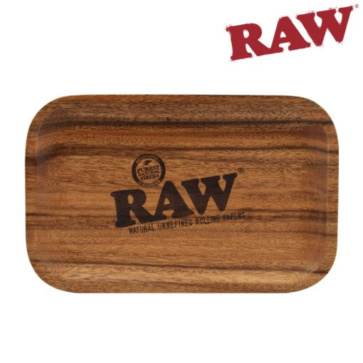 Raw Wood Rolling Tray
