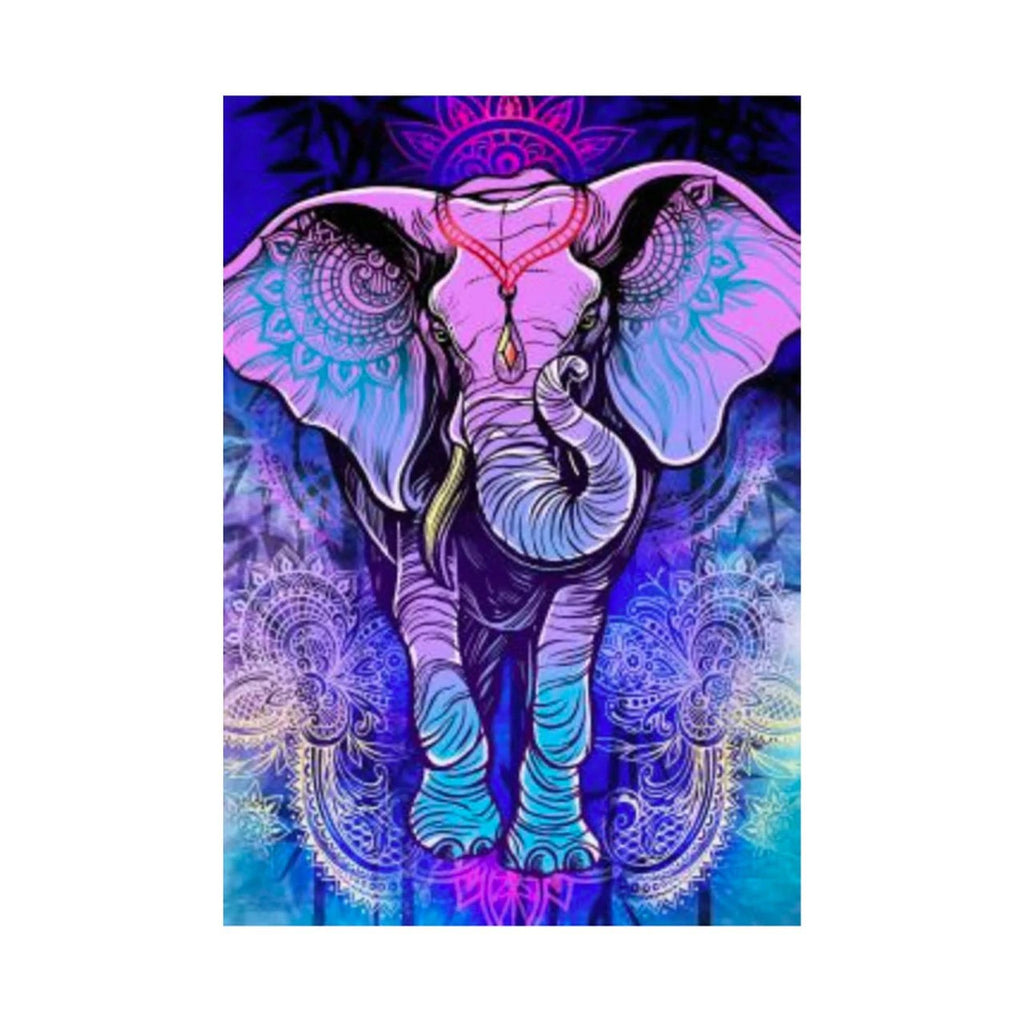 3-D Assorted Tapestries elephant