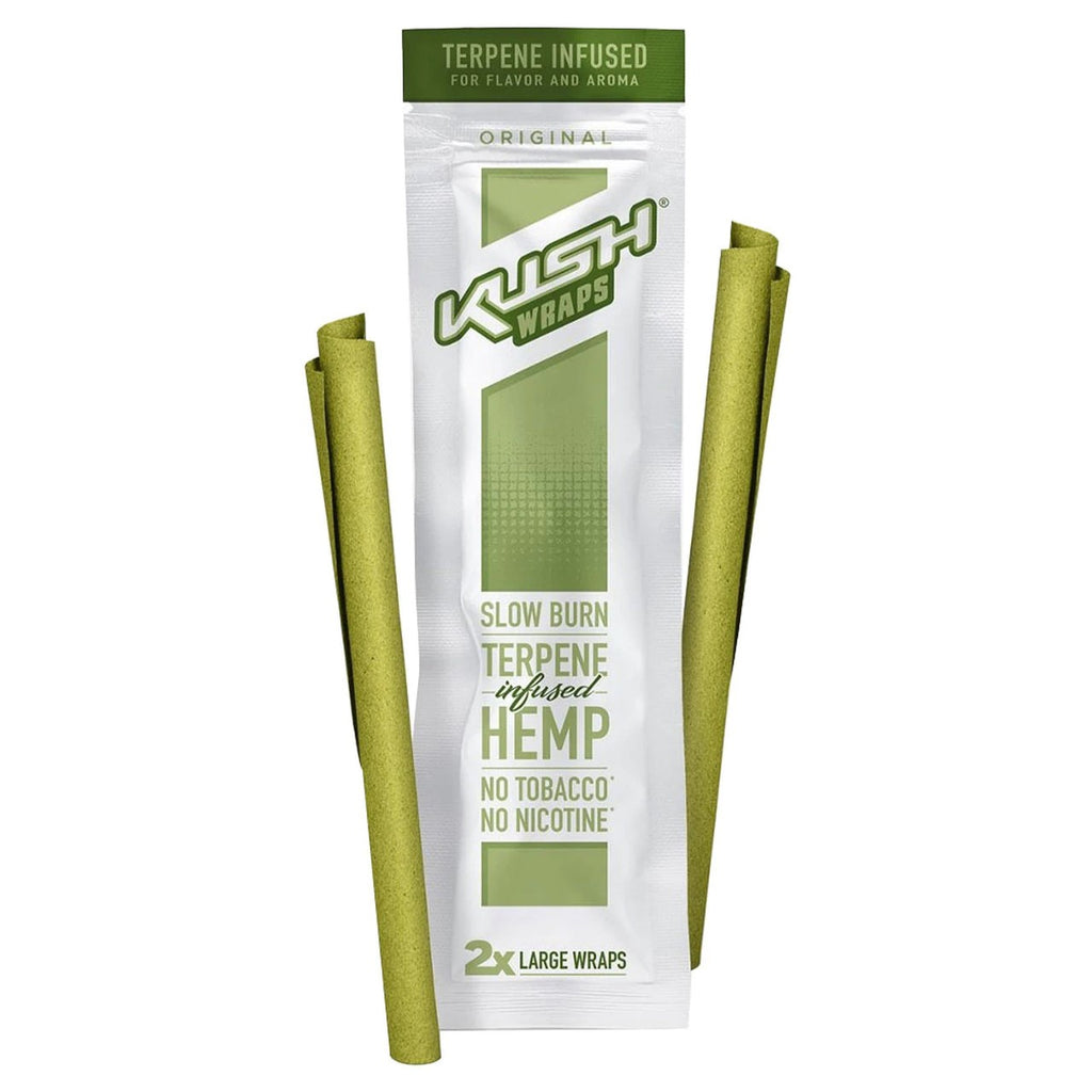 Kush Cones Hemp Wraps kiwi strawberry